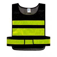 Wholesale Fluorescent Vest for Traffic controller Sanitation worker Safety Reflective Apparel from china suppliers