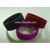 China suppliers custom fashion silicone slap bracelet /slap wristband with printing logo for sale