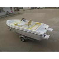 Wholesale Sport luxury fiberglass Simple Pleasure Yacht 3-8 persons Passenger from china suppliers