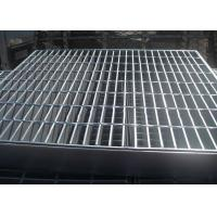 Buy cheap Welded Bar Grating Heavy Duty Steel Grating Banding Untreated Surface from wholesalers