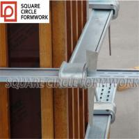 China Q345B steel adjustable column formwork clamp for wooden column formwork system on sale