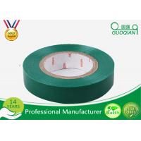 Wholesale Yellow / Green PVC Electrical Tape Heat Resistant For Cable Harnessing from china suppliers