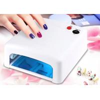 Quality White Light Gel Nail Uv Lamp 36 W , Electric Infrared Portable  Nail Dryer Machine for sale