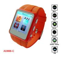 China Promotion WMA, WAV, MP3 MP4 Player Watch With MIC Recording CE, FCC on sale