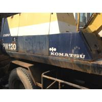 Wholesale USED KOMATSU PW120 WHEEL EXCAVATOR FOR SALE ORIGINAL JAPAN PW120 USED KOMATSU EXCAVATOR from china suppliers