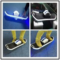 Buy cheap Intelligent One Wheel Self Balancing hoverboard electric skateboard with Led from wholesalers