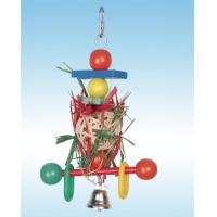 Wholesale natural preening parrot toy perfect for shredding, made of natural material from china suppliers