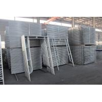 Wholesale European Style Anti Rust Ladder Scaffolding Systems H Frame Steel Q235B Material from china suppliers