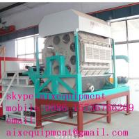 China high efficiency pulp egg tray forming machine/egg tray making machine on sale