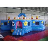 Lovely Waterproof Inflatable Toddler Playground ,  Kids Bouncy Castle Rental