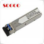 Wholesale 10G Bidi SFP Optical Module 10km T1270/R1330nm T1330/R1270nm 10G from china suppliers