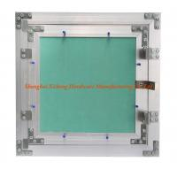 Wholesale Light Aluminum Frame Access Panel With Green Plasterboard  Low Height Special Push Lock from china suppliers