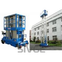 Wholesale Four Mast Two Men Aerial Work Platform With 8m Working Height 480 Kg Load Capacity from china suppliers