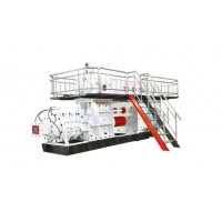 China JKY - 90 A High Manganese Steel Red Clay Bricks Manufacturing Machine on sale