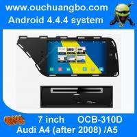 Wholesale Ouchuangbo 7 inch Audi A4 A5 car stereo gps radio with 1024*600 4 core USB S160 platform from china suppliers