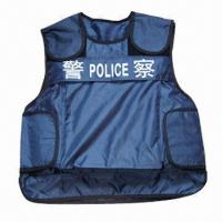 Wholesale Bulletproof Vest in Various Ballistic Levels, Made of Kevlar, Suitable for Police Use  from china suppliers