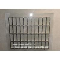 China Transparent steel rule die on clear resin base China factory on sale