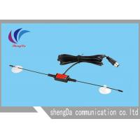 Wholesale Portable Horn Digital Broadcast TV Antenna , UHF VHF Outdoor TV Antenna3M Sticker from china suppliers