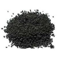 China Durable Black Colored Rubber Granules For Playground Abrasive Resistance on sale
