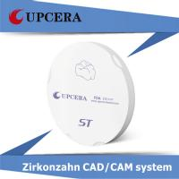 Wholesale Cerec Zirconia Blocks 98×12 mm Low Radioactive For Porcelain Crown from china suppliers