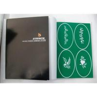 China Temporary tattoo paint stencil on sale