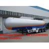 customized best price 56cbm bulk propane gas tanker semitrailer for sale, HOT SALE! road transported lpg gas tanker for sale