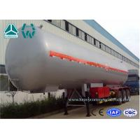 Wholesale Customized Logo Diesel Fuel Lpg Tank Trailer 200,000 Liters , Round Shape from china suppliers