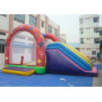 Wholesale Combo Commercial Inflatable Slide , Inflatable Bouncer Slide For Playing from china suppliers