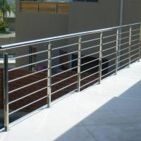 Wholesale Modern Balcony / Staircase Stainless Steel Rod Railing Design from china suppliers