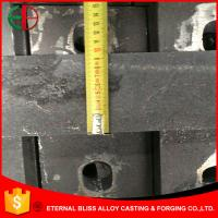 Wholesale HBW555 XCr27 High Cr Casting Heavy Section Plates Square Casting HRC50 EB11030 from china suppliers