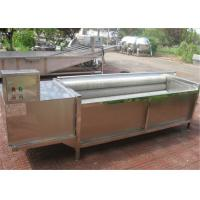 Durable Potato Washing Machine For Industry Low Breaking Rate Easy To Operate