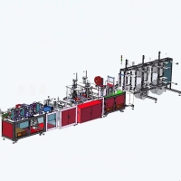 Wholesale CE FDA Medical Surgical N95 KN95 Face Mask Production Line from china suppliers