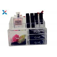 Wholesale Eco Friendly Acrylic Makeup Organiser With Drawers Display Storage Box from china suppliers