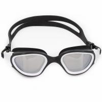 Wholesale Silver Mirrored Swim Mask Goggles Panoramic Lens Swimmer Goggles from china suppliers