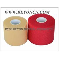 Wholesale PU Breathable Porous No Adhesive Sports Pre Wrap Foam Underwrap To Protect Skin from china suppliers