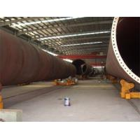 China 40 Tons Self Adjustment Automatic Pipe Turning Rollers Siemens System for sale
