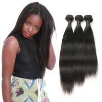 Wholesale Strong Weft Straight Virgin Hair Weave / Brazilian Straight Human Hair Weave from china suppliers