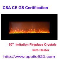 Wholesale Electric Fire Place Wall Mount with remote control from china suppliers