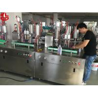 Wholesale Cosmetics Bag On Valve Sunscreen Spray Aerosol Filling Equipment 5000-8000 cans / Shift from china suppliers