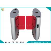 Wholesale IR Sensor Speed Gates , Drop Arm Entrance Barrier Gate Alarm Light Flashing from china suppliers