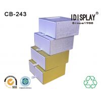 Buy cheap Special Design Cardboard Gift Boxes , Custom Made Paper Drawer Box Eco Friendly from wholesalers