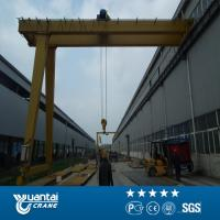 The end of 2015 Large Discount Yuantai Semi Gantry Crane for sale