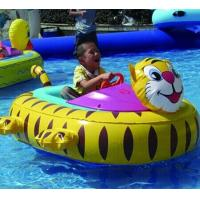 Wholesale Inflatable Toy Boats For kids , Tiger Inflatable Motorized Bumper Boat from china suppliers