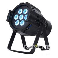 Wholesale 7 x 10w Professional Stage Lighting Fixture Color Wash Light Quad RGBW from china suppliers