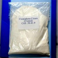 Wholesale Steroid Supplemnents Post Cycle Therapy Clomifene Citrate Clomid CAS 50-41-9 from china suppliers