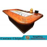 Wholesale Standard Casino Sic Bo Luxury Casino Craps Poker Table / Electronic Poker Table from china suppliers