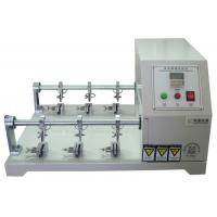 Buy cheap Six Station Leather Preprocessing Flexing Testing Machine Crumpling Resistance Tester from wholesalers