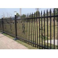 Wholesale Powder Coated Security Picket Tubular Steel Fence , Ornamental Fence Panels from china suppliers