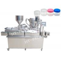 Buy cheap USU304 30ml 50BPM Cream Filling Machine Bottle Filling And Capping Machine from wholesalers