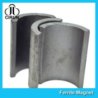 China Industrial Ferrite Arc Magnet For Treadmill Motor / Water Pumps / Dc Motor on sale